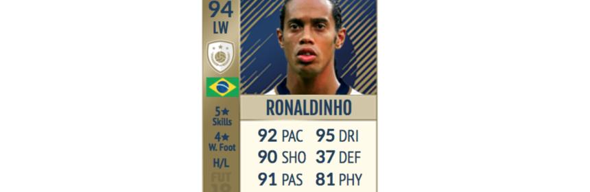 Ronaldinho 94 Rated Prime Icon