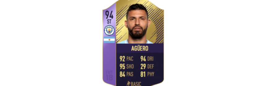 Sergio Aguero POTM Card Prediction