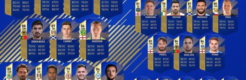 EFL TOTS - FIFA 18