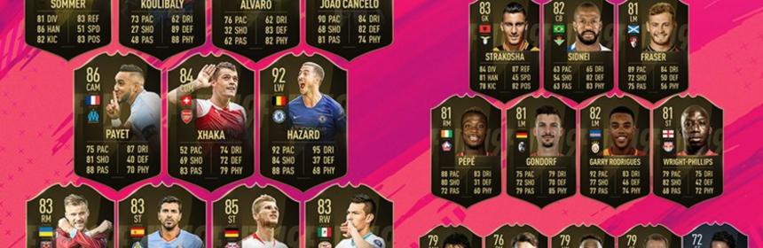 TOTW 1 - FIFA 19